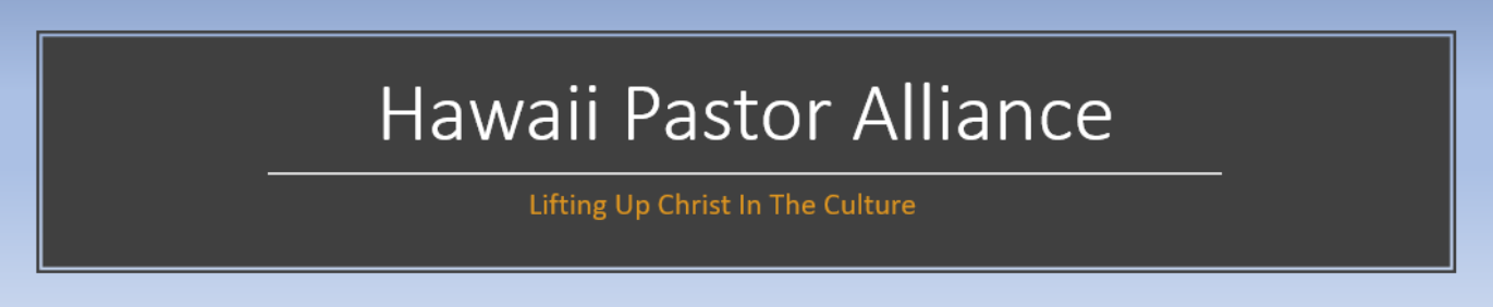 Hawaii Pastor Alliance